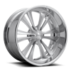 6 LUG KNUCKLE SIX - F227 BRUSHED W/ GLOSS CLEAR