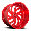 6 LUG MAFIOSO - FORGED HD LOLLIPOP RED