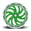 6 LUG MAFIOSO 6 - FORGED HD ILLUSION GREEN ICE
