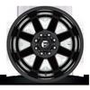 8 LUG MAVERICK - D436 DUALLY REAR MATTE BLACK