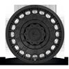 6 LUG MILITIA - D723 MATTE BLACK