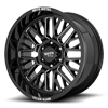 6 LUG MO802 GLOSS BLACK MILLED