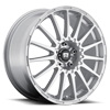5 LUG MR119 RALLY CROSS S SILVER W/ CLEAR COAT
