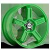 5 LUG MR122 GREEN