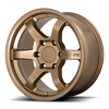 6 LUG MR150-TRAIITE MATTE BRONZE
