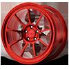 5 LUG MR103 CANDY RED