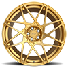 5 LUG ALPINE-D BRUSHED TRANSPARENT MATTE GOLD