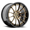 5 LUG AGILE GLOSS BRONZE | GLOSS BLACK LIP