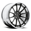 5 LUG AGILE GLOSS CANDY BLACK | BRUSHED GLOSS CLEAR
