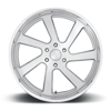 6 LUG OUTLAW - PRECISION SERIES BRUSHED W/ POLISHED LIP