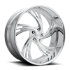 5 LUG OUTRAGE 5 - PRECISION SERIES BRUSHED W/ POLISHED LIP