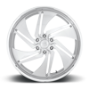 6 LUG PHANTOM 6 - PRECISION SERIES BRUSHED W/ POLISHED LIP