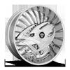 5 LUG S607-RAZZ CHROME
