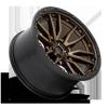 6 LUG REBEL - D681 BRONZE W/ BLACK LIP
