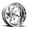 8 LUG RENEGADE DUALLY REAR - D263 CHROME