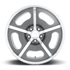 5 LUG RIO GRANDE CONCAVE - U594 MATTE SPACE GREY W/ POLISHED WINDOWS & LIP
