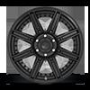 6 LUG ROGUE - D709 20X9 | MATTE BLACK
