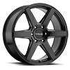 6 LUG 156B SURGE BLACK MACHINED