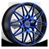 5 LUG R11 BLACK/BLUE