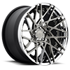 5 LUG BLQ-T CANDY BLACK W/POLISHED LIP
