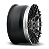 5 LUG BLQ-T HI POLISH GLOSS DDT W/CHROME LIP