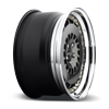 5 LUG CCV HIGH POLISH BLACK