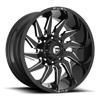 8 LUG SABER - D744 GLOSS BLACK & MILLED