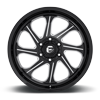 6 LUG SEEKER - D676 GLOSS BLACK & MILLED