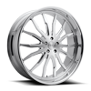 5 LUG SPIKEY - X126 BRUSHED W/ POLISHED LIP
