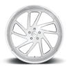 5 LUG STRYKER - PRECISION SERIES BRUSHED W/ POLISHED LIP