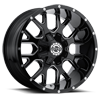 5 LUG SC-19 BLACK MILLED