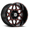 8 LUG SC-16 RED MILLED