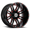 6 LUG SC-18 RED MILLED