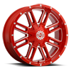 6 LUG SC-18 NEON RED MILLED