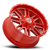 8 LUG SC-18 NEON RED MILLED