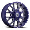 6 LUG SC-19 NEON BLUE MILLED