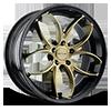 5 LUG SC103 GLOSS BLACK WITH BRONZE FACE