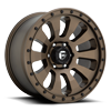 6 LUG TACTIC - D678 BRONZE W/ BLACK BOLTS