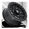 4 LUG TECH - D916 BEADLOCK 15X7 | BLACK CENTER W/ BLACK BEADLOCK