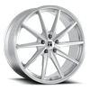 5 LUG TF02 BRUSHED SILVER GLOSS