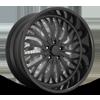 5 LUG TRIKK - X86 MATTE BLACK W/ GLOSS BLACK LIP