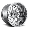 6 LUG TRITON - D210 CHROME
