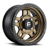 4 LUG ANZA - D583 - UTV BRONZE W/ BLACK RING
