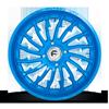 4 LUG FF30 - UTV CANDY BLUE OVER POLISH