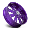 4 LUG FF38 - UTV CANDY PURPLE & MILLED