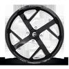 4 LUG FF51 - UTV GLOSS BLACK & MILLED