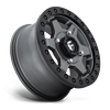 4 LUG GATLING - D915 BEADLOCK ANTHRACITE CENTER W/ BLACK RING