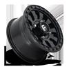 4 LUG TACTIC - D630 - UTV MATTE BLACK