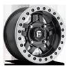 4 LUG ANZA - D917 BEADLOCK MATTE BLACK W/ ANTHRACITE RING