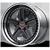 5 LUG VF310 GLOSS BLACK MACHINED LIP